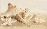 Gracia Ceramica Amalfi sand decor 01 250х400 мм - 13 шт.
