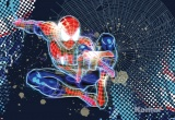Фотообои Komar Marvel 1-426 Spider-Man Neon