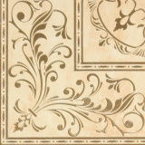 Gracia Ceramica Palladio beige decor PG 01 450х450 мм - 4 шт.