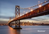 Фотообои Komar Urban 8-733 Bay Bridge