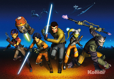 Фотообои Komar Star Wars 8-486 STAR WARS Rebels Run
