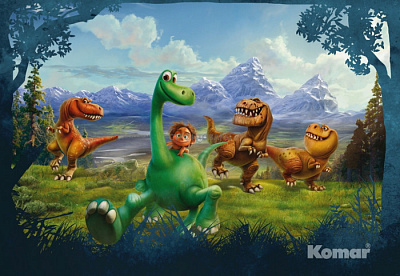 Фотообои Komar Disney 8-461 The Good Dinosaur