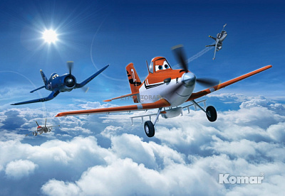 Фотообои Komar Disney 8-465 Planes Above the Clouds