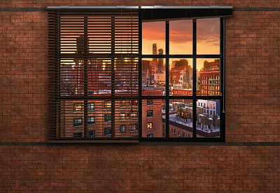Фотообои Komar Vol. 15 8-882 Brooklyn Brick