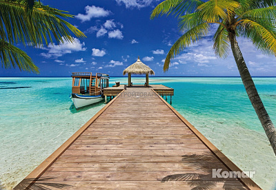 Фотообои Komar Tropical 8-921 Beach Resort