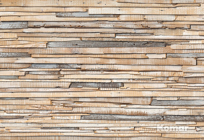 Фотообои Komar Wood & Stones 8-920 Whitewashed Wood