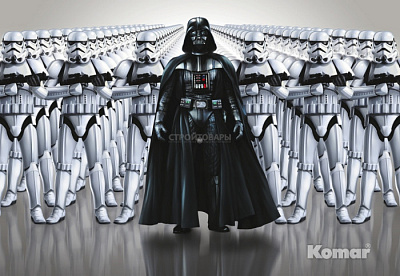 Фотообои Komar Star Wars 8-490 STAR WARS Imperial Force