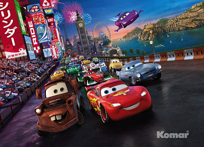 Фотообои Komar Disney 4-401 Cars Race